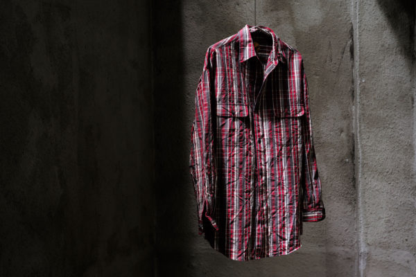 BLACKBIRD / lumberjack shirt – red check –