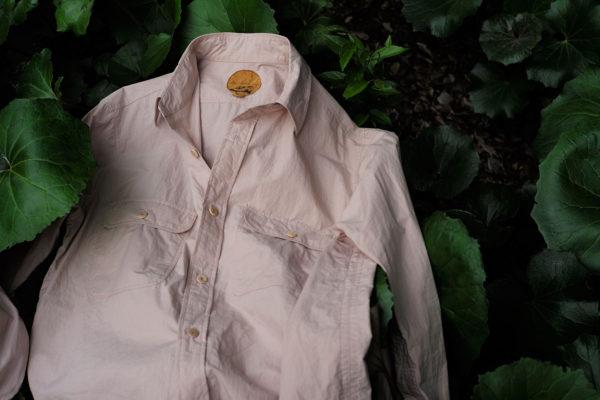 BLACKBIRD / lumberjack shirt – pink beige –