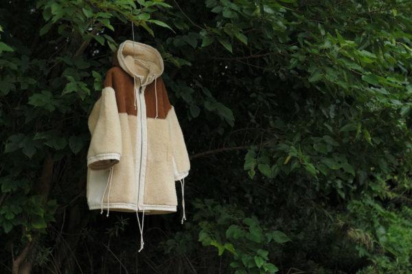 Toogood Unisex outerwear – THE EXPLORER COAT (shearlinglambskin)-