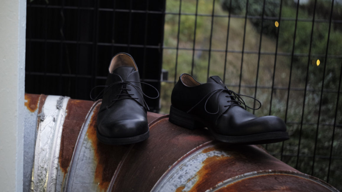 m.a+ -leather shoes-