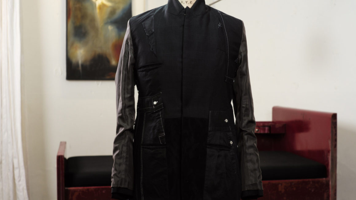 BLACKBIRD – poetess jacket –