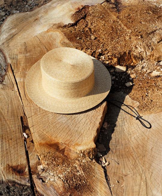 KIJIMA TAKAYUKI/HIGHLINE – Boater Hat – / CHET BAKER