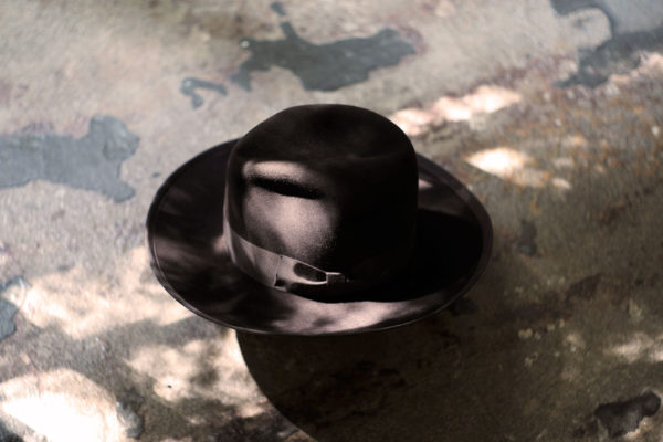 """KIJIMATAKAYUKI-HIGHLINE- """"beaver hair felt hat"""""""