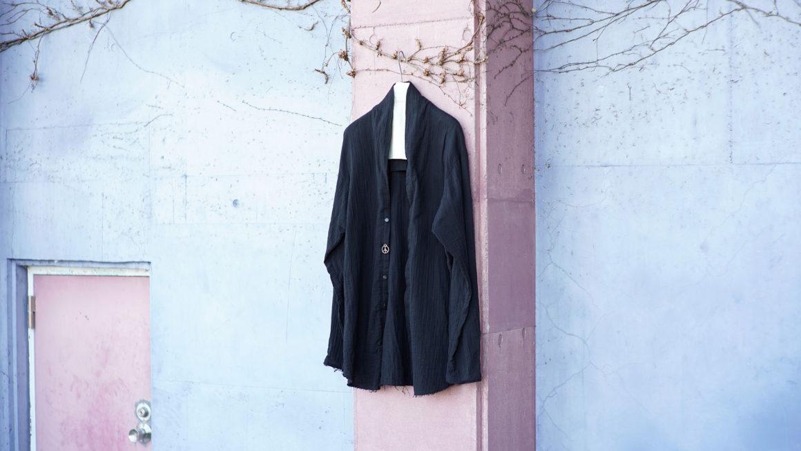 BLACKBIRD – v neck shirt cardigan –